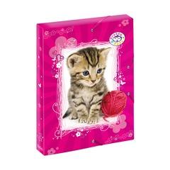 Папка с резинками Pretty Pets Cat