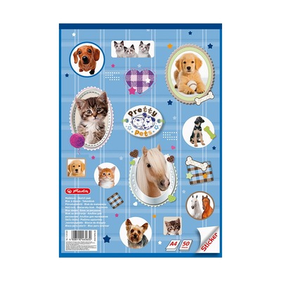 Альбом для рисования Pretty Pets, А4, 50л