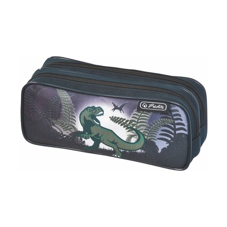 Пенал Dino Jungle 2 молнии