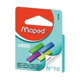 Скобы Maped №10 цветные