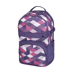 Рюкзак Be.Bag Cube Purple Checked