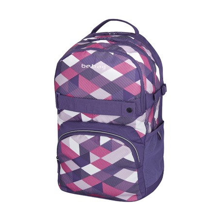 Рюкзак Be.Bag Cube Purple Checked