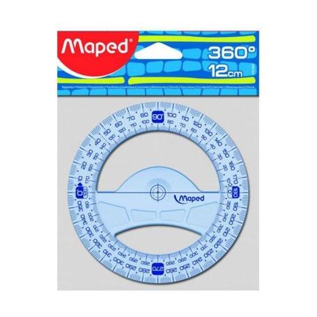 Транспортир Maped Graphic, 12см