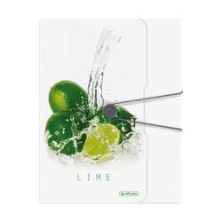Папка с резинкой Fresh Fruit Лайм, А4