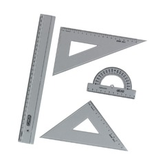 Набор геометрический Herlitz, 4 предмета