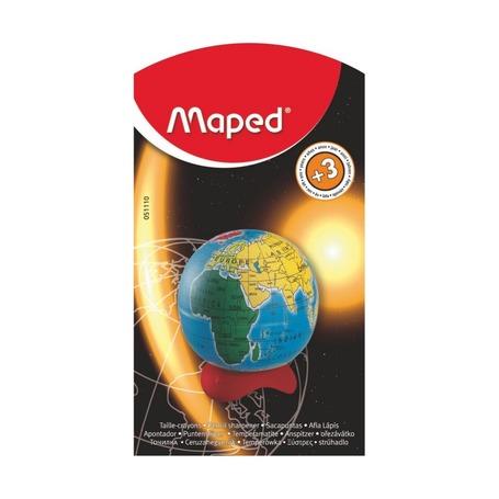 Точилка Maped Глобус, блистер
