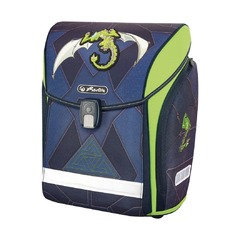 Ранец New Midi Plus Green Robo Dragon