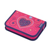 Пенал Pink Hearts 19 предметов