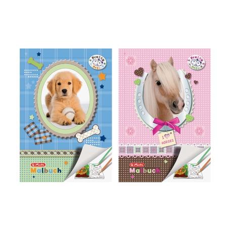 Альбом для рисования Pretty Pets, А4, 28 листов