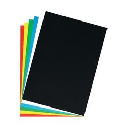 Картон плакатный, 48х68см, голубой