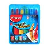 Гелевые мелки Maped Color'Peps, 6 цветов