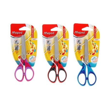 Ножницы Maped Essentials Soft с прорезиненными ручками, 13 см