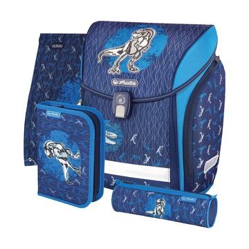 Ранец New Midi 19 Blue Dino