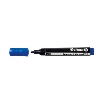 Маркер перманентный Pelikan 407 F, синий