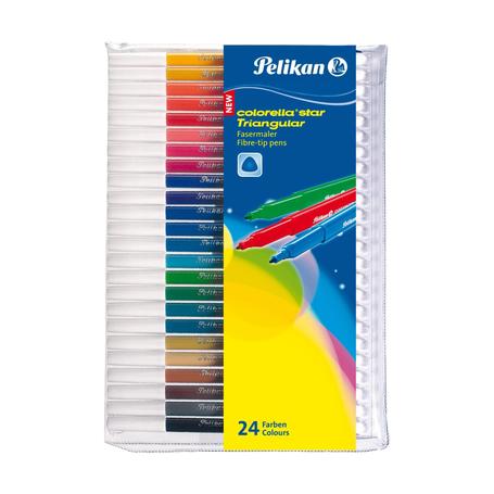 Фломастеры Pelikan С303, 24 цвета