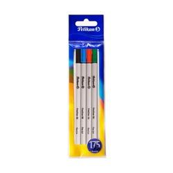 Ручки капилярные Pelikan Fineliner, 0.4 мм, 4 шт.