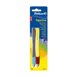 Ручка шариковая автоматическая Pelikan Figurine, 2 шт, синий М
