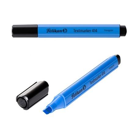 Текстовыделитель Pelikan 414 Tri, голубой