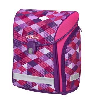 Ранец New Midi Pink Cubes