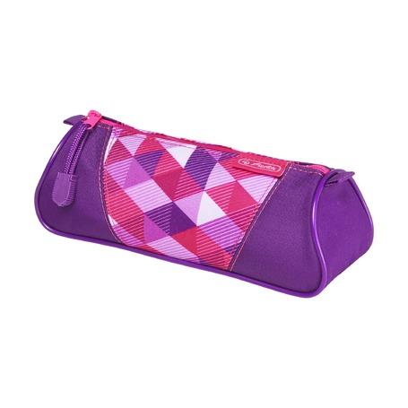 Пенал Pink Cubes triangular