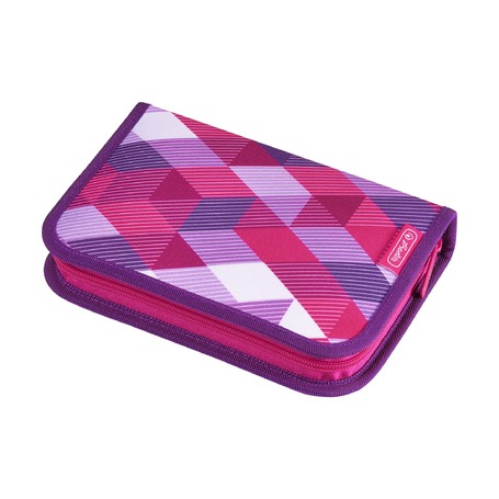 Пенал с наполнением Pink Cubes 31 предмет
