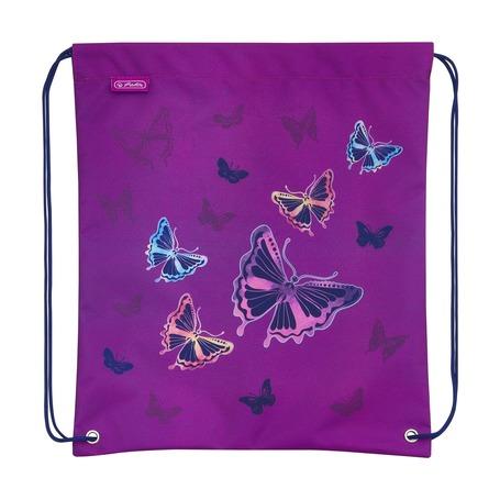 Мешок для обуви Glitter Butterfly