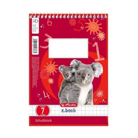 Блокнот коала, А5, 40л, клетка