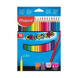 Цветные карандаши Maped Color'peps, 18 шт.