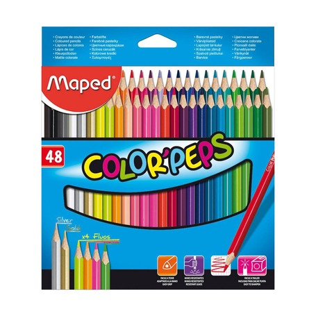 Цветные карандаши Maped Color'Peps Classic, 48 цв.
