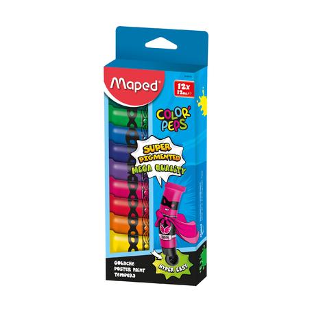 Гуашь Maped Color'peps, 12 цв.