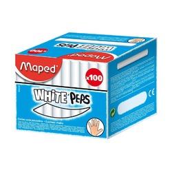 Мел Maped белый, 100 шт.