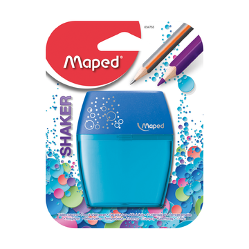 Точилки Maped Shaker, 2 отверстия,блистер