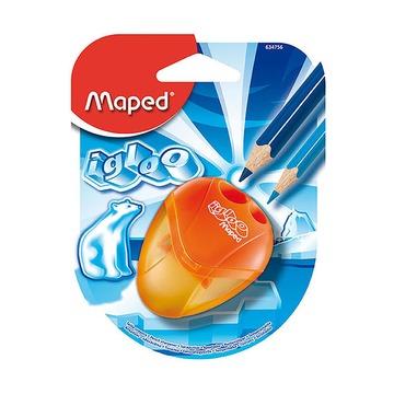 Точилка Maped I-Gloo, 2 отверстия,блистер