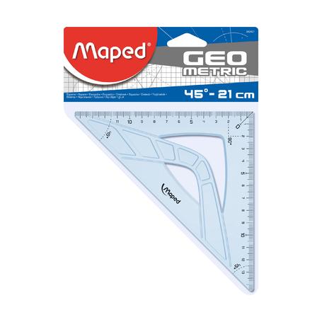 Угольник Maped Geometric 45