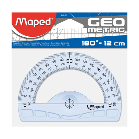Транспортир Maped Geometric 180°