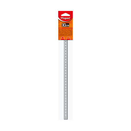 Линейка металлическая Maped, 30 см