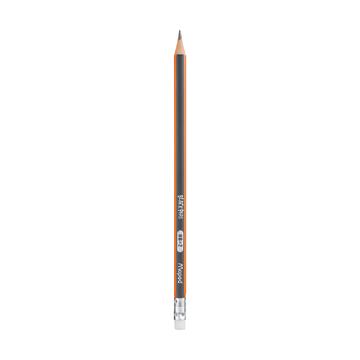 Чернографитный карандаш Maped HB с ластиком, 1 шт.