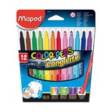 Фломастеры Maped Color'Peps Long Line, 12 цв.