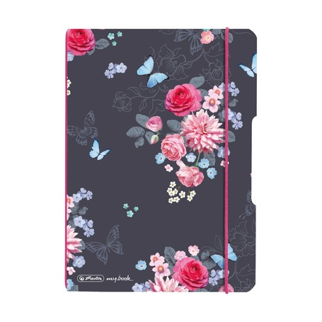 Блокнот Flex Ladylike Flowers, A5, 40 листов