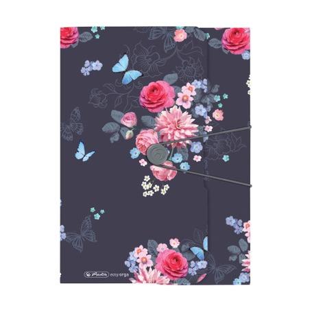 Папка с резинкой A4 Ladylike Flowers