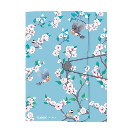 Папка с резинкой A4 Ladylike Birds