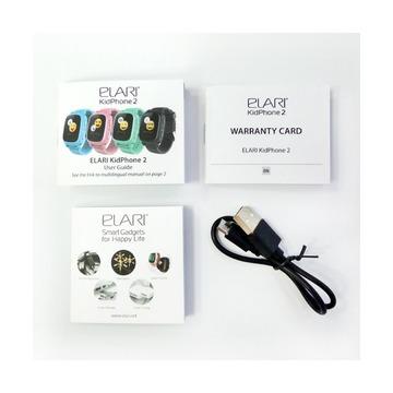 Часы-телефон Elari KidPhone 2, голубые