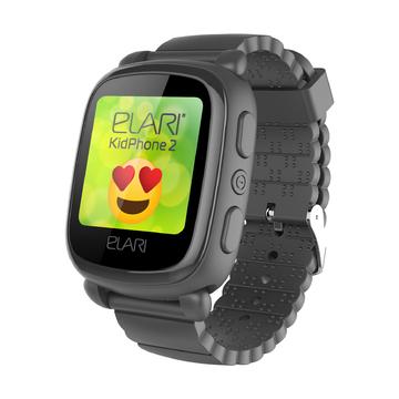 Часы-телефон Elari KidPhone 2, черные