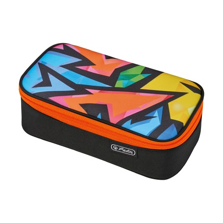 Пенал Be.bag Beat Box, Neon Art