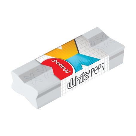 Ластик Maped White'Peps Stick, без упаковки