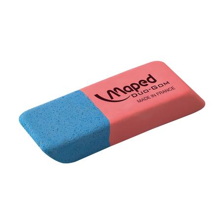 Ластик Maped Duo-Gom, средний, без упаковки