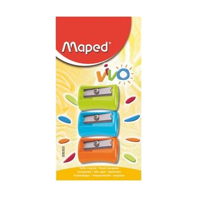 Точилка Maped Vivo, 3 шт.