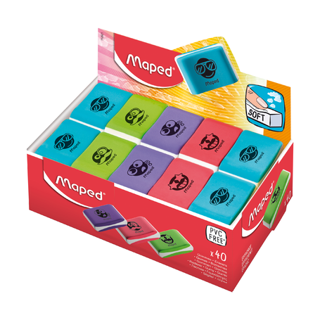 Ластик Essentials Soft Color, без упаковки