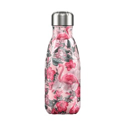 Термос Chilly's Bottles Tropical, 260 мл, Flamingo