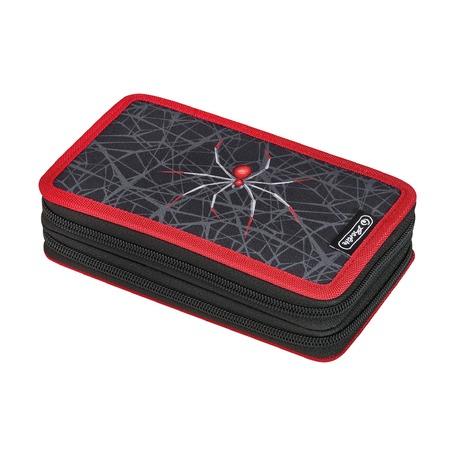 Пенал Spider, 2 молнии, 23 предмета
